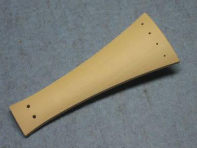 Tailpiece for Baroque Violin  boxwood natural